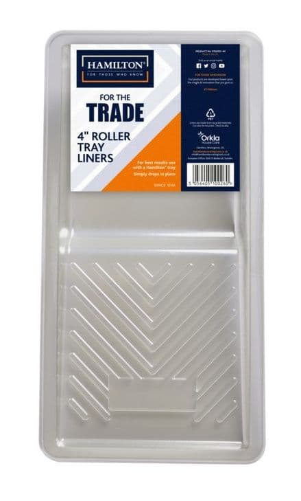 """Hamilton For The Trade Roller Tray Liner - 4"""""""